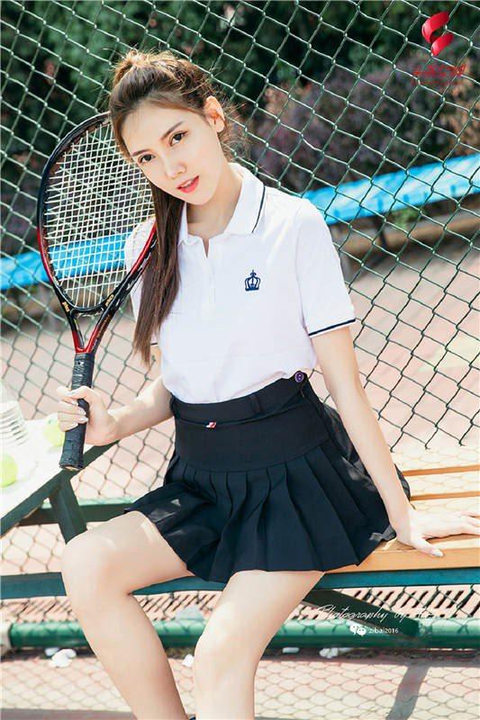 [TouTiao头条女神]2019.07.13 莎伦 我是网球美少女[22P/21.4M]